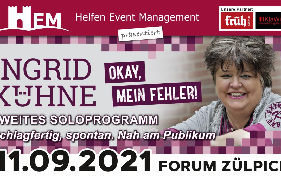 Ingrid Kühne – Okay, mein Fehler!