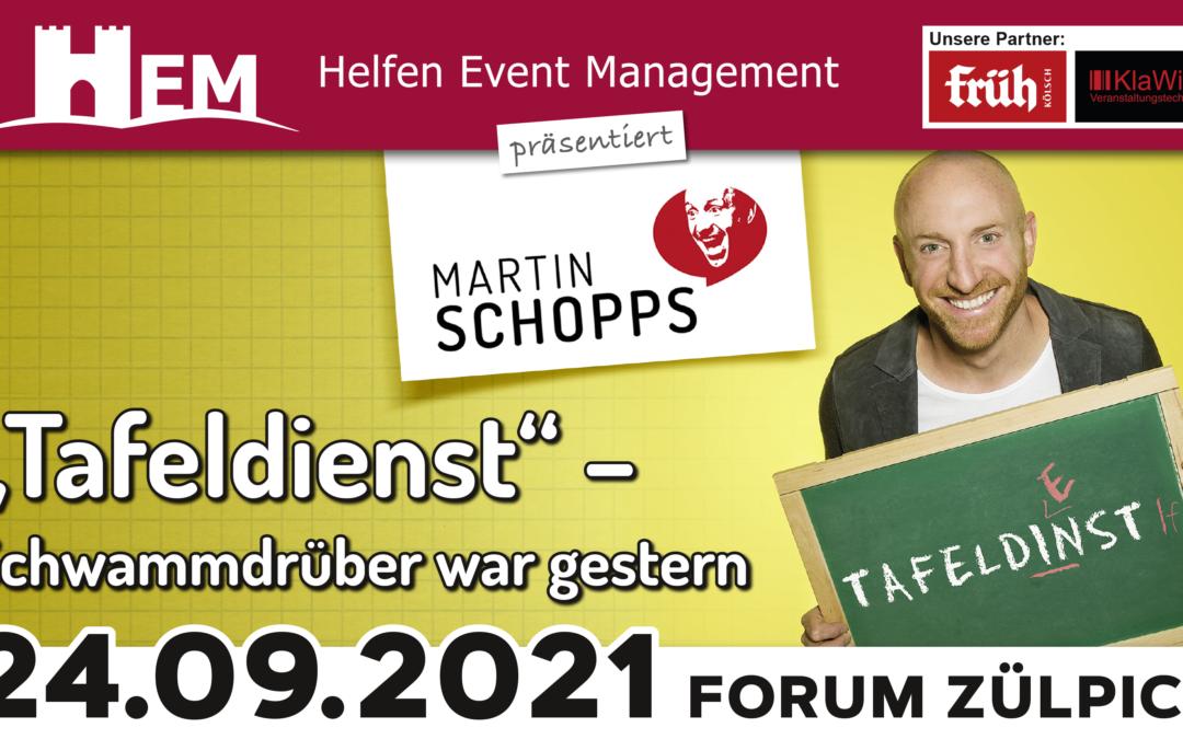 Martin Schopps – Tafeldienst